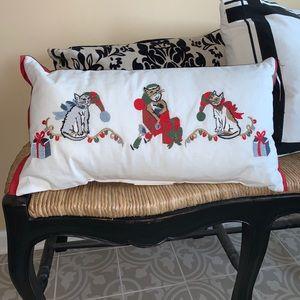 Christmas Cats Pillow